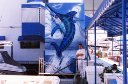 Endangered Blue Marlin off Palm Beach coast